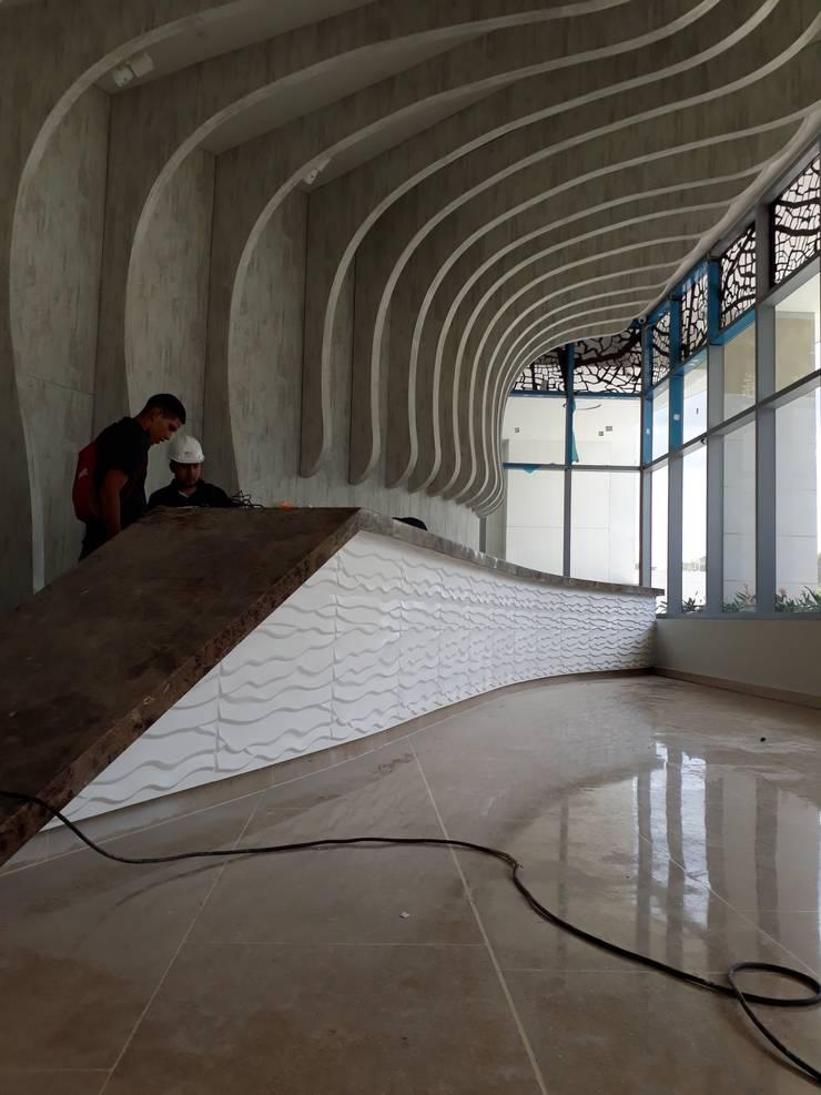 Ref: Beach: Paisajismo de interiores de estilo  por Decoart3D S.A.S.