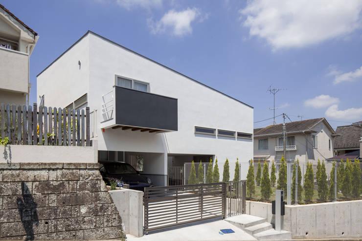 Huizen door 前田敦計画工房