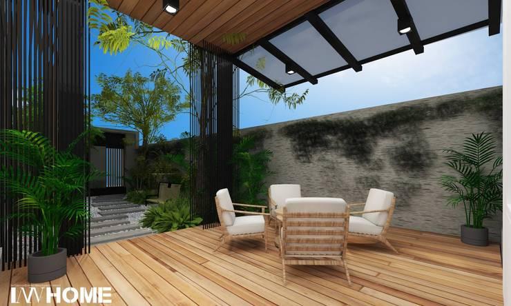 รีโนเวทและต่อเติมบ้านเดี่ยว:   by Innhome Design Studio