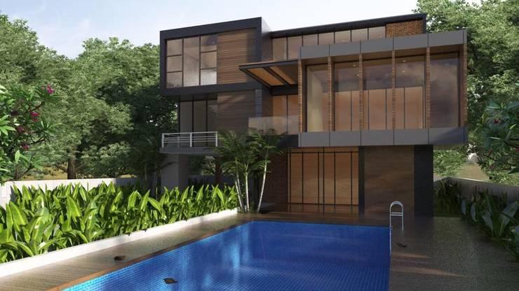 อัพเดตแบบบ้านพักอาศัยสวยๆล่าสุด หน้างานย่านทองหล่อ-เอกมัย ขนาด 4 ห้องนอน 5 ห้องน้ำครับ:   by Creative & Renovate Thailand