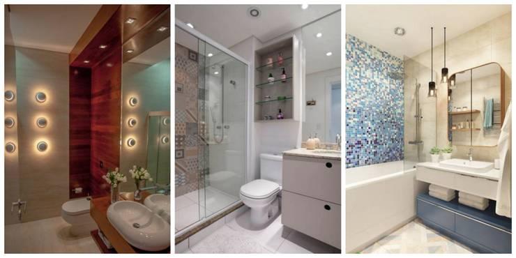 bathroom: modern Bathroom by Gargee Kashyap homify