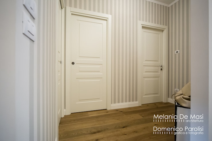 Wooden doors by melania de masi architetto