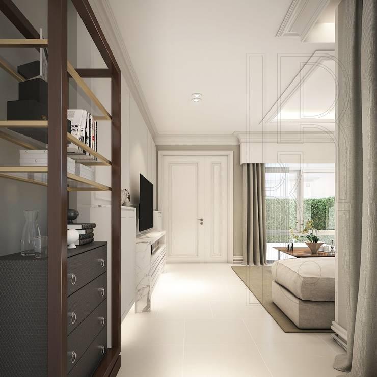 Residence Project K. Pisun.:   by K.R. Decorate Co., Ltd.