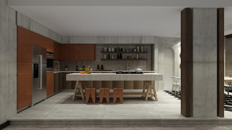 Dining room by ICONIC DESIGN STUDIO