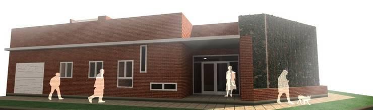 Proyecto Jardín Maternal Arco Iris:  de estilo  por EKOPP obras & arquitectura,