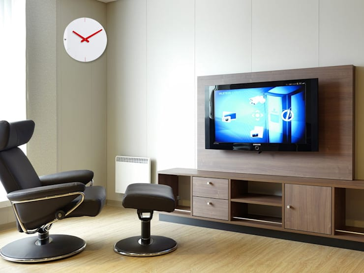 Progetti Clock Sheet:  Living room by Just For Clocks