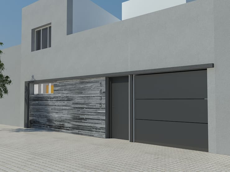 Imagen Fachada:  de estilo  por Casa Meva Estudio