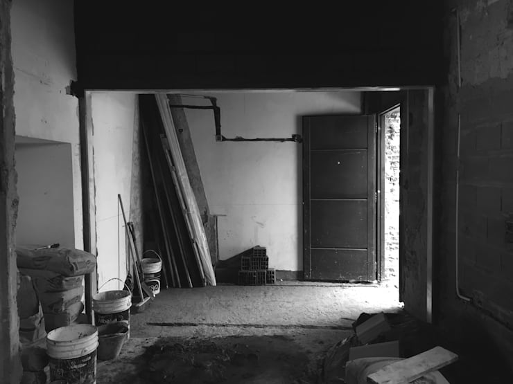 Avance de obra: Livings de estilo  por Casa Meva Estudio