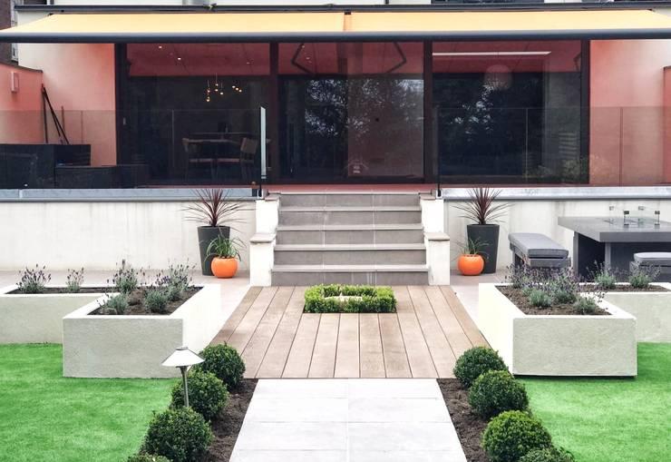 Jardines de estilo  por Gardenplan Design