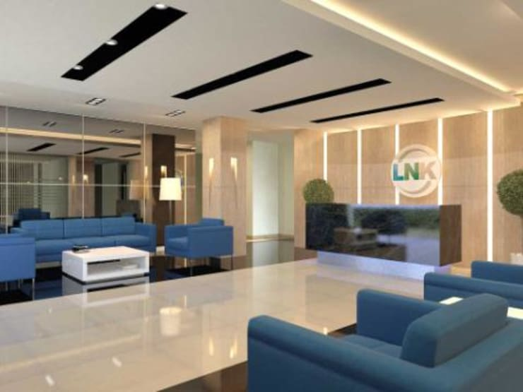 PT. LNK mojosari:  Gedung perkantoran by Kottagaris interior design consultant