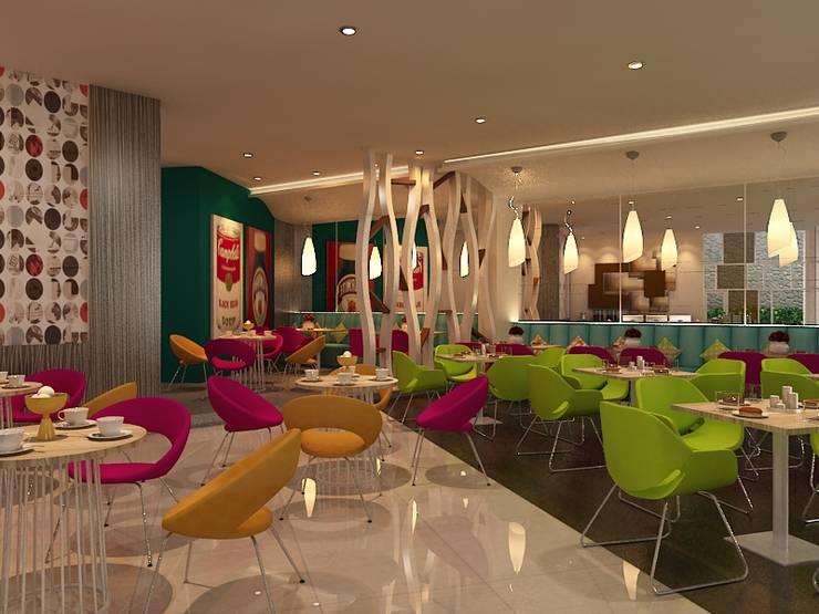 Hotel Coklat:  Hotels by Kottagaris interior design consultant