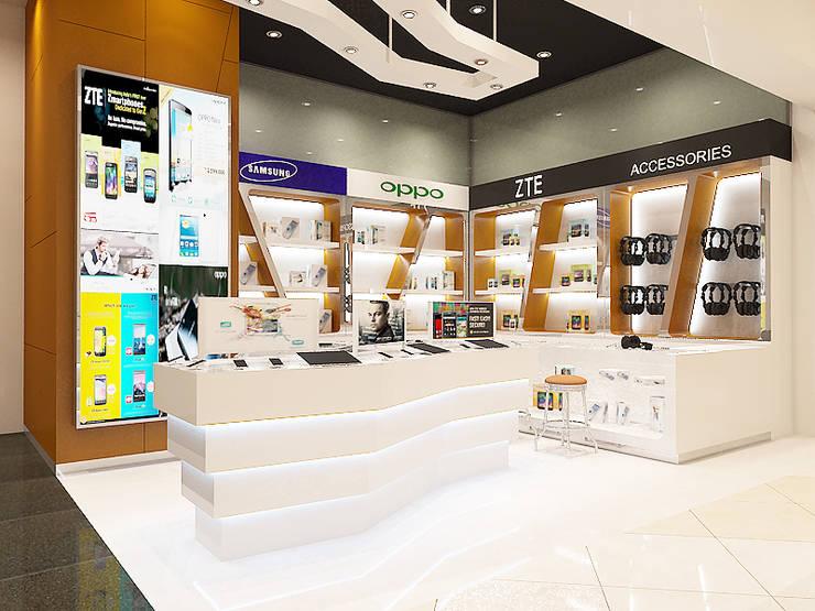 Mobile store:  Pusat Perbelanjaan by Kottagaris interior design consultant