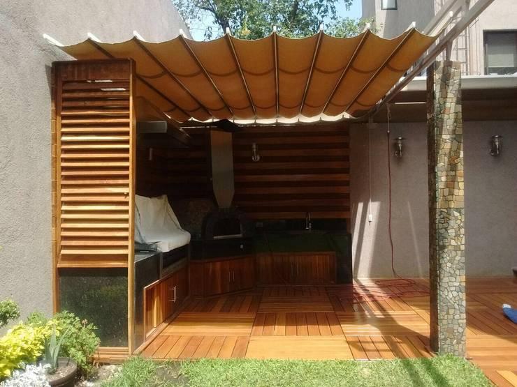 Projekty,  Ogród zaprojektowane przez Materia Viva S.A. de C.V.