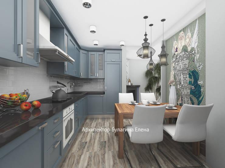 Кухня: Кухни в . Автор – Архитектурное Бюро 'Капитель', Эклектичный