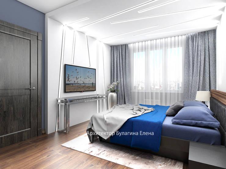Спальня: Спальни в . Автор – Архитектурное Бюро 'Капитель', Эклектичный