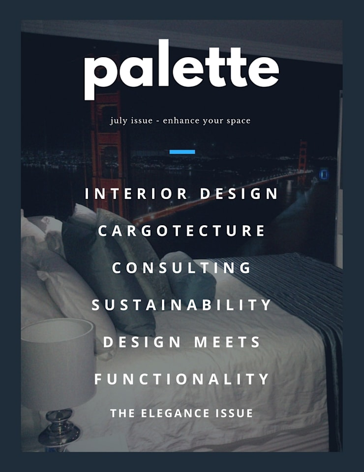 Palette:  Bedroom by Capital 5 Consulting, Modern