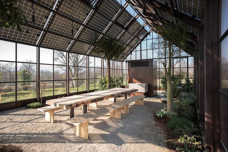 Conservatory by zanon architetti associati