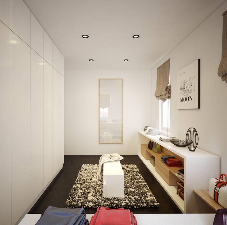 Âu cơ Villa:  Nursery/kid's room by Công ty cổ phần Kiến trúc và xây dựng AST