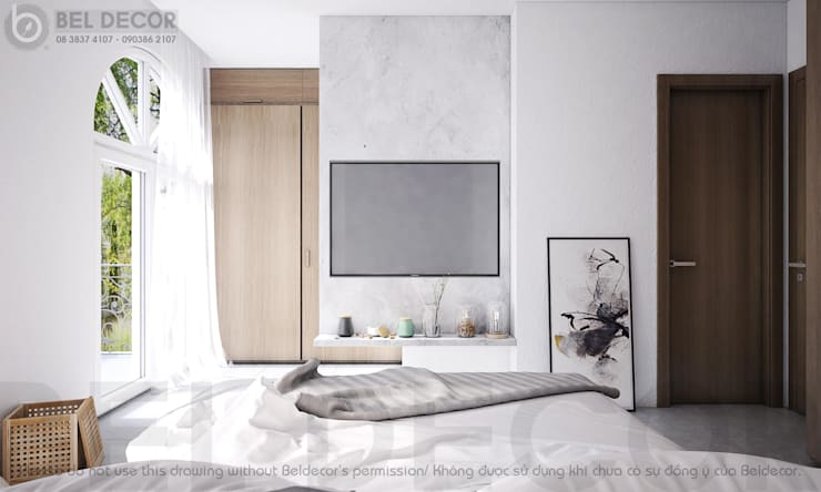 Bedroom 1:   by Bel Decor