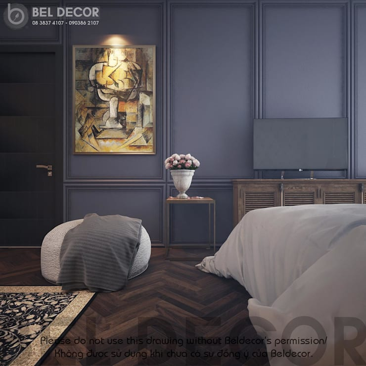 Master Bedroom:   by Bel Decor
