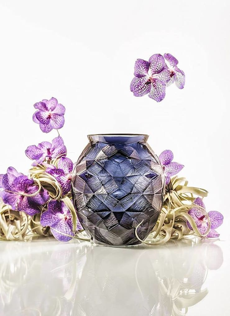 Eye Catching Crystal Vases:  Household by Spacio Collections