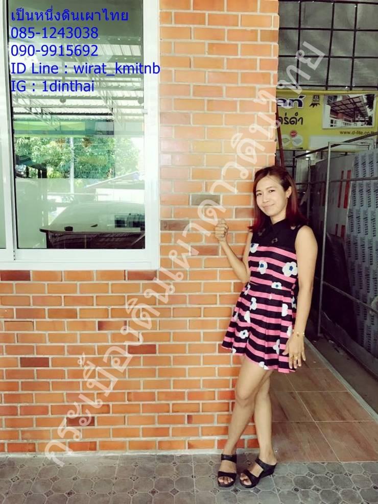 ออฟฟิตพี่สาวคุณโชค(ลูกค้าเก่า) - บางบังทอง:  ตกแต่งภายใน by เป็นหนึ่งดินเผาไทยดีไซน์
