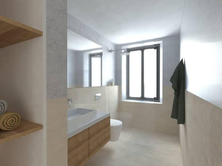 Remodeling in Beja: Casas de banho mediterrânicas por Grupo Norma