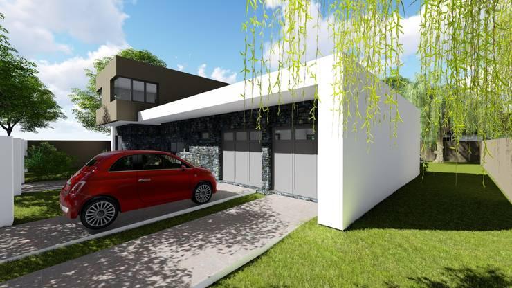 Casa en Barrio Pizzurno - Rafaela - Santa Fe: Casas de estilo  por Arquitecto Leandro Puy,