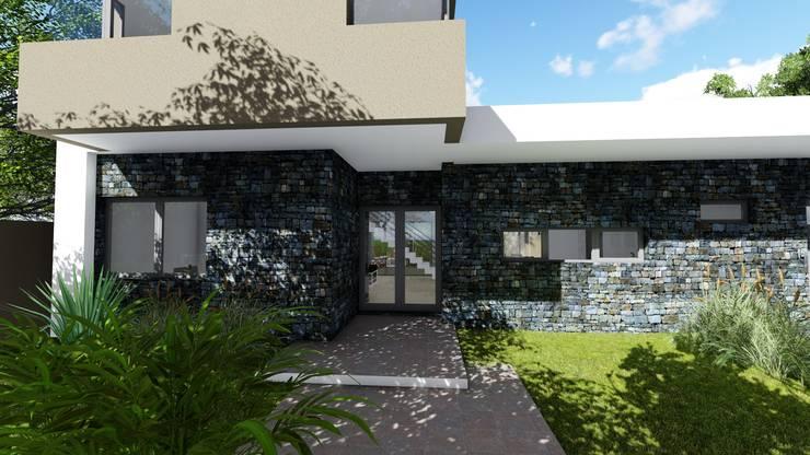 Casa en Barrio Pizzurno – Rafaela – Santa Fe: Casas de estilo  por Arquitecto Leandro Puy,
