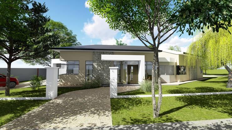 Casa en Barrio Brigadier López - Rafaela - Santa Fe - Argentina: Casas de estilo  por Arquitecto Leandro Puy,