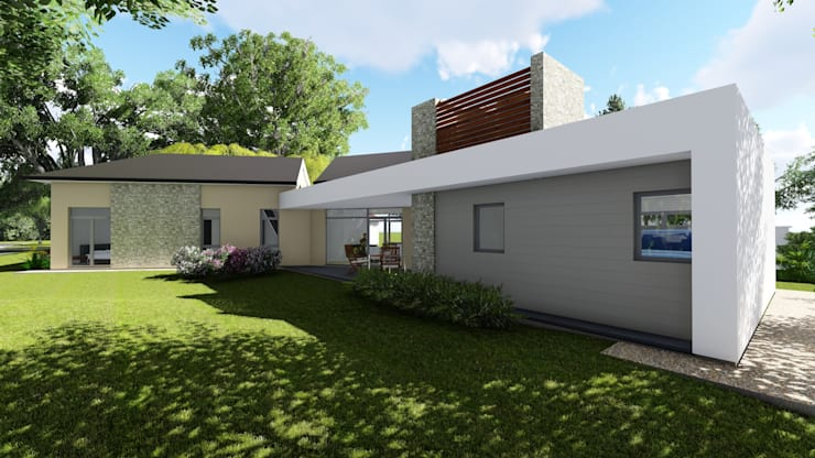 房子 by Arquitecto Leandro Puy