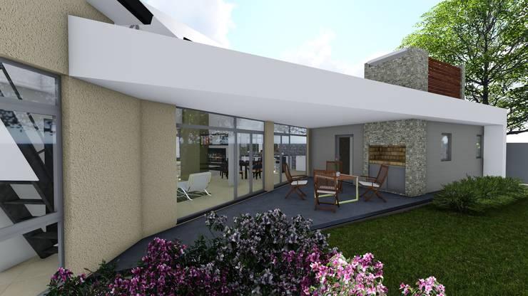 Casa en Barrio Brigadier López – Rafaela – Santa Fe – Argentina: Casas de estilo  por Arquitecto Leandro Puy,
