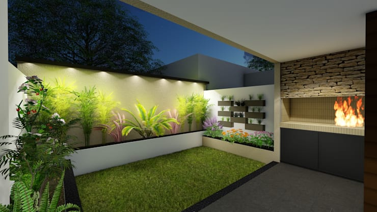 Garden by Arquitecto Leandro Puy