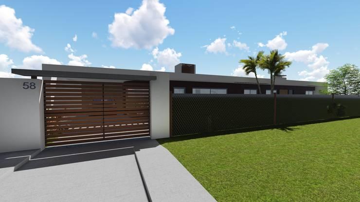 Casa en Barrio San José – Rafaela – Santa Fe – Argentina: Casas de estilo  por Arquitecto Leandro Puy,