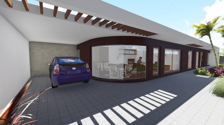 Casa en Barrio San José - Rafaela - Santa Fe - Argentina: Casas de estilo  por Arquitecto Leandro Puy,