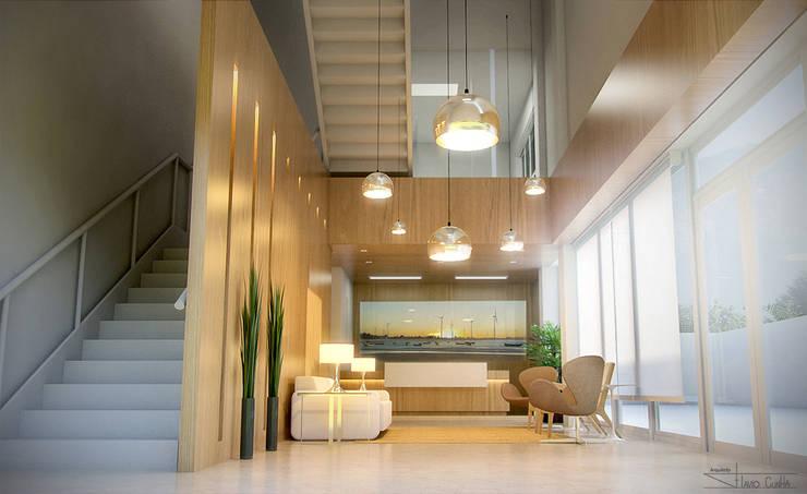 Oficinas de estilo moderno de SET Arquitetura e Construções Moderno