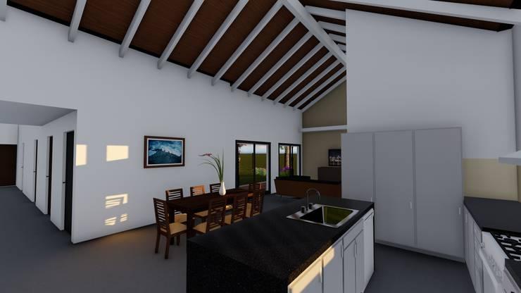 Casa en Susana – Susana – Santa Fe – Argentina: Comedores de estilo  por Arquitecto Leandro Puy