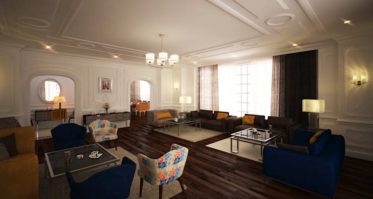 classic Living room by SIGMA Designs