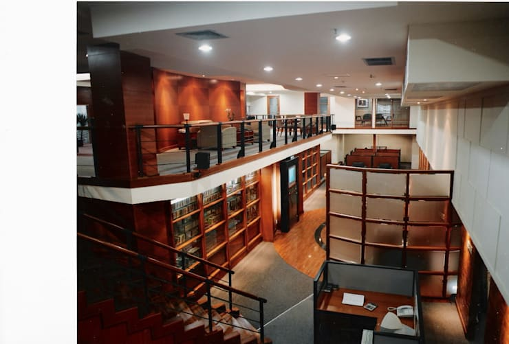 working area from above:  Gedung perkantoran by sigmaDKNP