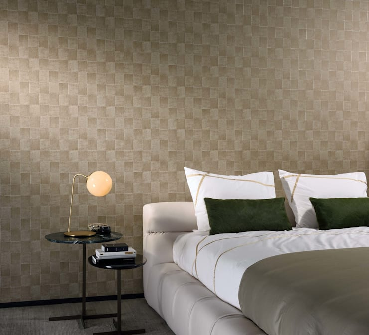 Classic Victory Tile: Paredes y pisos de estilo clásico por BIANELLA
