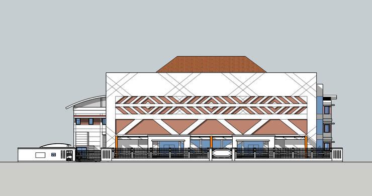 Roi-Et National Musuem Renovation Plan:  บ้านและที่อยู่อาศัย by Aim Ztudio