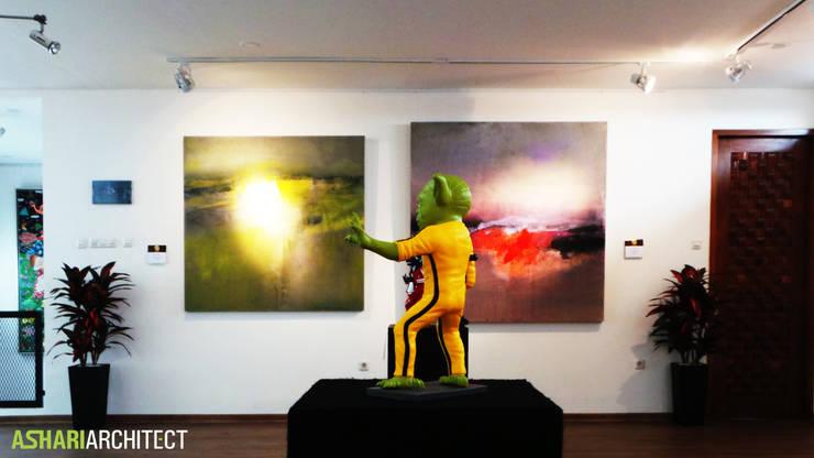 Art Gallery:  Ruang Multimedia by Ashari Architect