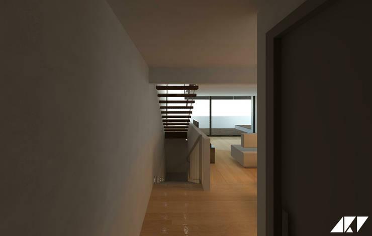 Corridor & hallway by ARQUITECTOSRT