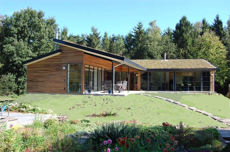 Casas campestres de estilo  por Ruimte voor Leven