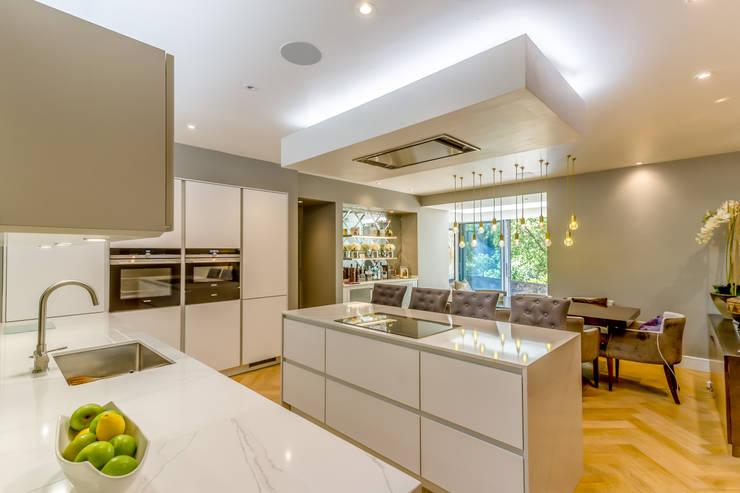 Projekty,  Kuchnia na wymiar zaprojektowane przez Capital A Architecture