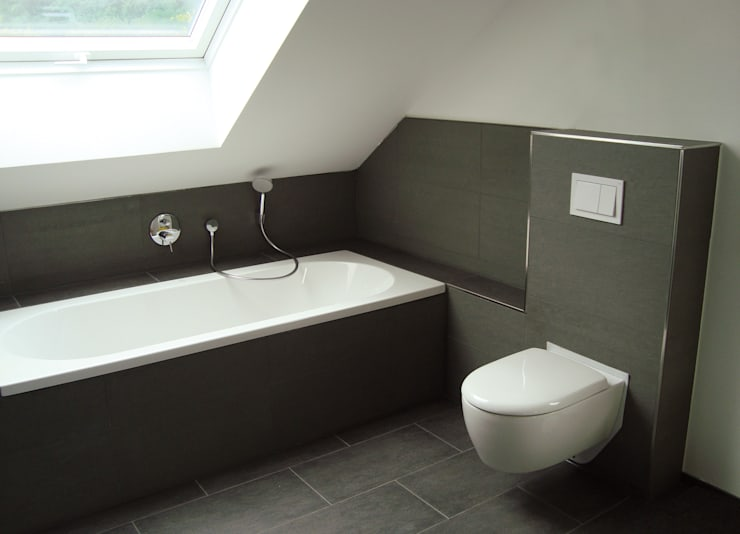 moderne Badkamer door Resonator Coop Architektur + Design