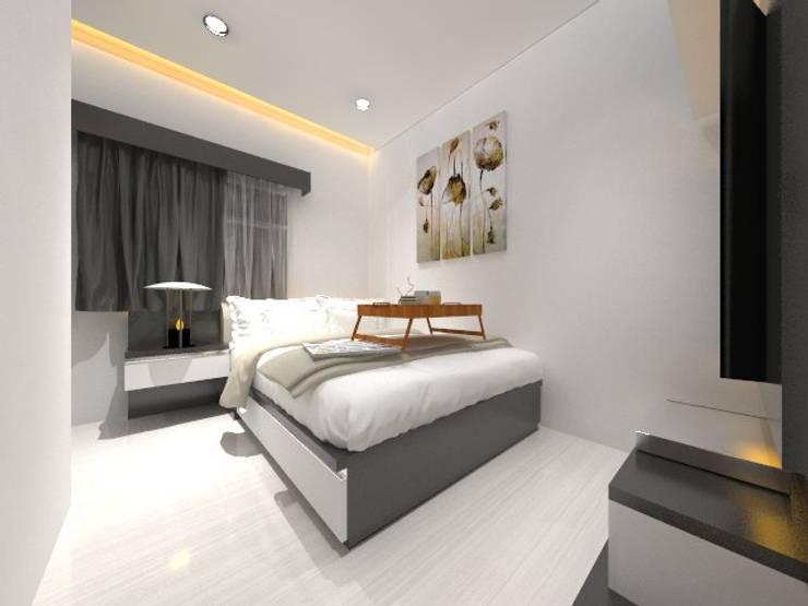 Master Bedroom:  Kamar Tidur by Asera.Atelier