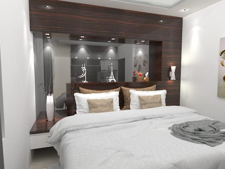 House at Batununggal Abadi:  Bedroom by Asera.Atelier