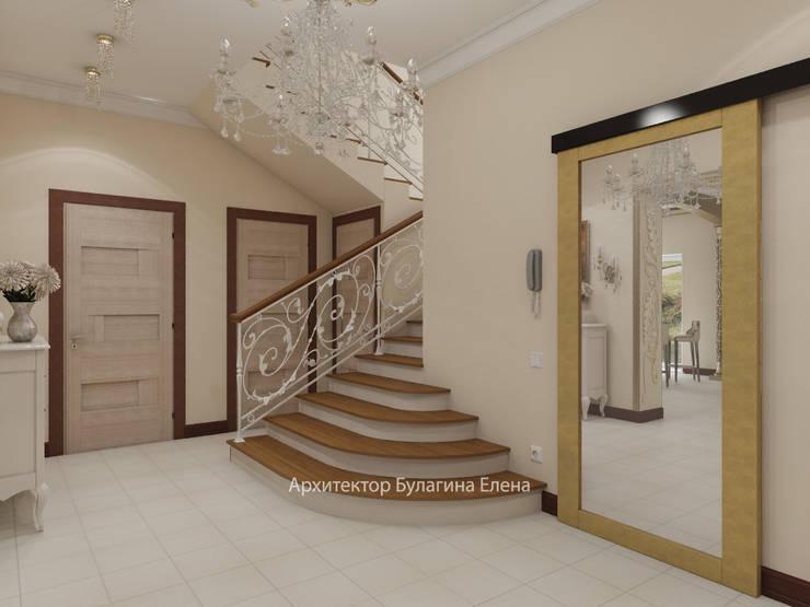 Corridor & hallway by Архитектурное Бюро 'Капитель'