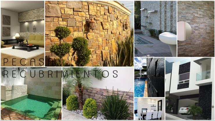 Venta e Instalacion de Recubrimientos Residenciales: Conjunto residencial de estilo  por PECASA RECUBRIMIENTOS, Moderno